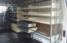 Hiace with Van Shelving