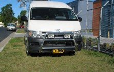 Toyota Hiace SLWB 63mm Nudge Bar