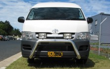 Toyota Hiace SLWB 76mm Nudge Bar