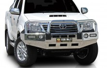 Toyota Hilux Big Tube Bullbar with Lights
