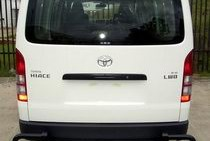 Toyota Hilux Black Loop Rear Protection Bar