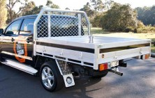 Hilux Dual Cab with Platinum Tray