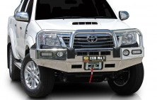 Hilux Winch Compatible Bullbar with Lights