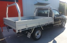 Toyota Hilux with Tradie Ladderack