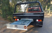 Dmax Steel Tray wih Trundle Out