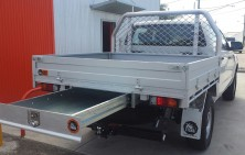 Ranger Dual Cab Tray with Trundle