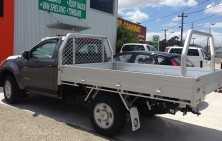 Colorado Single Cab with Tradie Tray