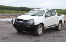 Holden Colorado Steel Fleet Bullbar