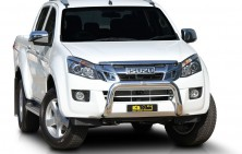 Isuzu DMax 76mm Nudge Bar