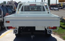 DMax Dual Cab with Steel Tray
