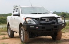 Mazda BT50 Steel Fleet Bullbar