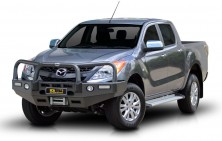 Mazda BT50 Winch Compatible Bullbar with Lights