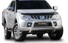 Mitsubishi Triton 76mm Nudge Bar