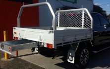 Nissan NP300 with Tradie Tray