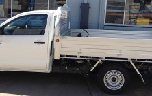 Hilux Single Cab with 300mm High Sides