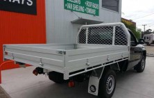 Amarok Single Cab with Tradie Tray