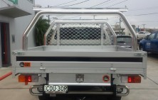 Hilux Dual Cab with Platinum Tray & Rack