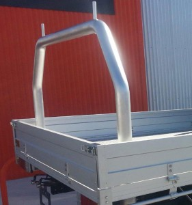 Toyota Hilux with Tradie Rear Ladderack