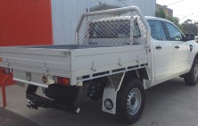 Ranger Dual Cab with Trundle