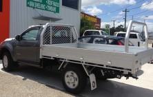 Colorado Single Cab with Tradie Tray