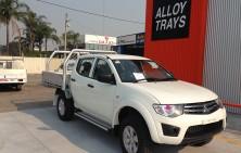 Triton MN Dual Cab with Tradie Tray