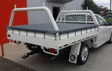 Steel Tray with Rack and Tonneau